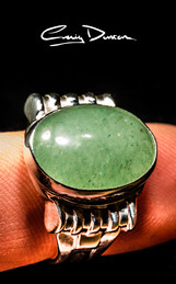 Green agate and sterling silver ring.jpg