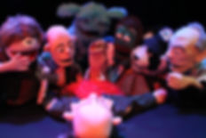 Puppets, Jurassic Puppets, Comedy, All Puppet Players