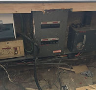 Old fuse board discovered during EICR