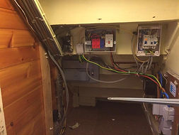 Fuse Board Before Edinburgh electricians - All Star Electrical Solutions Ltd