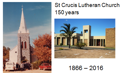 old and new St. Crucis