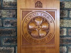 St. Crucis Lutheran Emblam