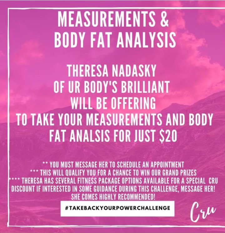 UR Body's Brilliant Body Fat Analysis
