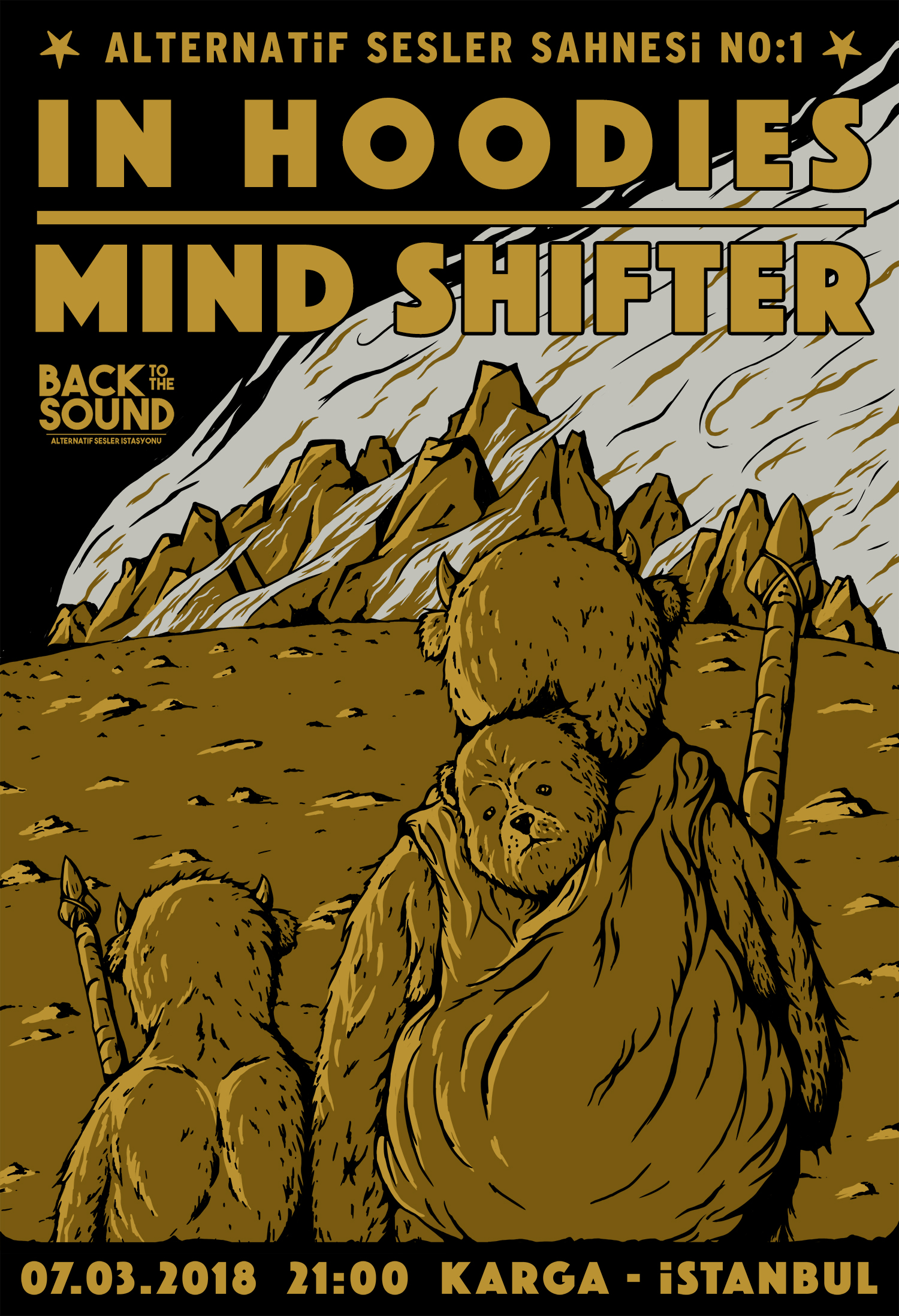 IN HOODIES & MIND SHIFTER