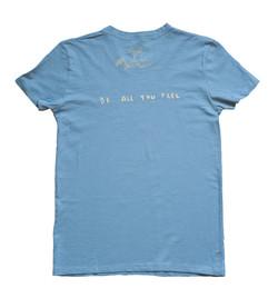 BAYF T-Shirt  / Blue-Yellow Back
