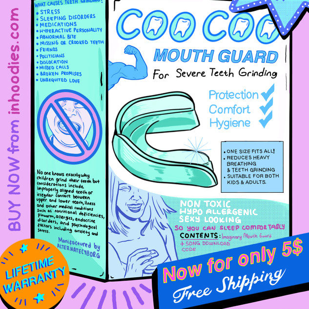 MOUTH GUARD AD - Alternatecyborg