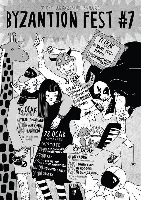 Byzaniton Fest #7 @arkaoda