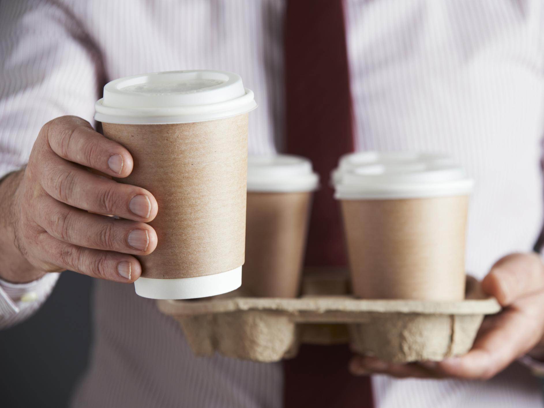 single use plastic disposable-coffee-cups