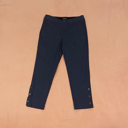 Roz & Ali Dress Capris Navy (8)