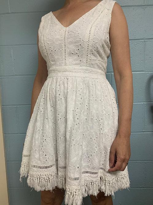 DO+BE White Summer Dress (L)
