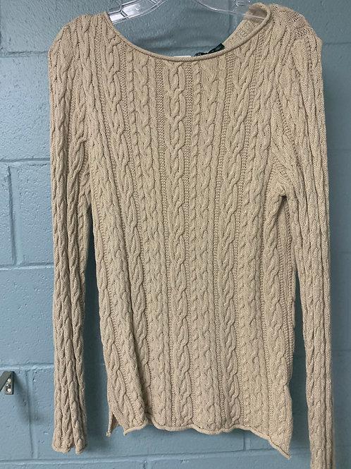 Tan Ralph Lauren Sweater (m)