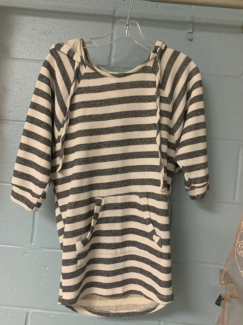 Monteau Striped Pullover Shirt (S)