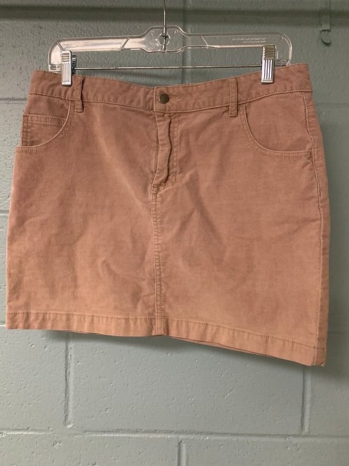 Pink Corduroy BDG Mini Skirt (8)