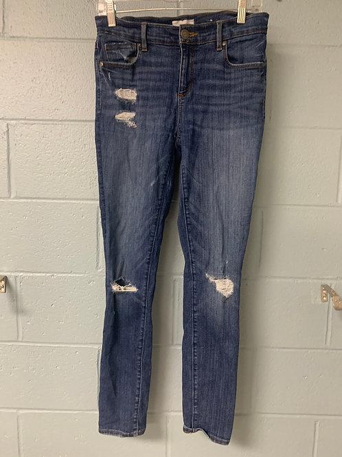 LOFT Ripped Skinny Jeans (4)