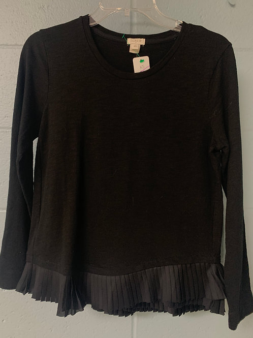 Black J. Crew L Long Sleeve Shirt (xs)