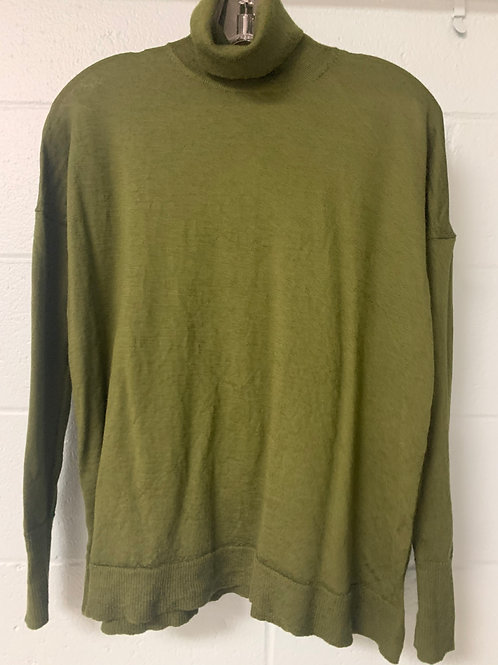 Olive Green J. Crew Turtleneck Sweater (s)