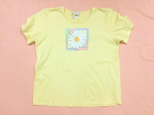 Sonoma Yellow Flower Tee (xl)