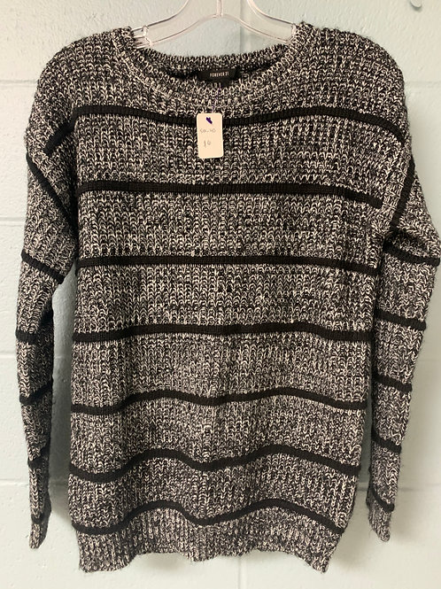Black and White Forever 21 Sweater (s)