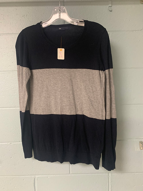 Navy Blue and Grey Gap Sweater (m)