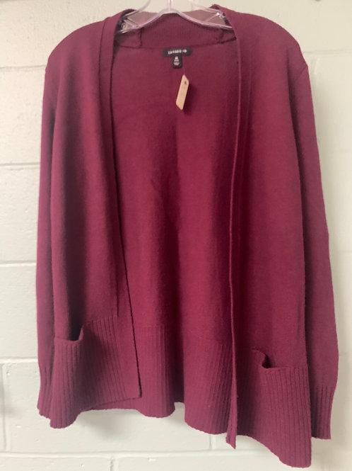Purple Lands' End Cardigan Sweater (m)