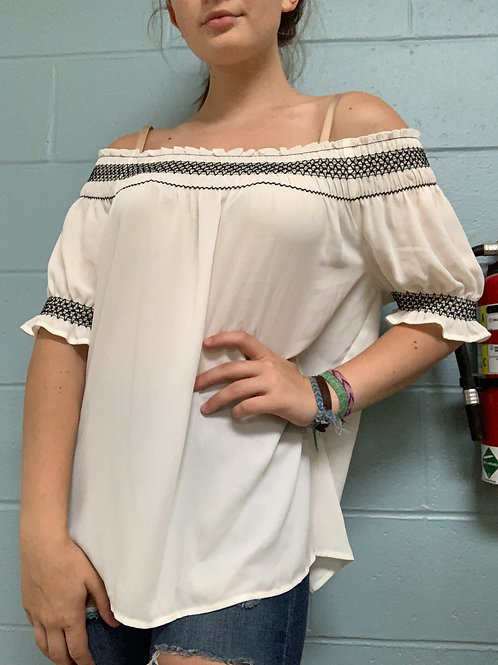 Express Off Shoulder Blouse (M)