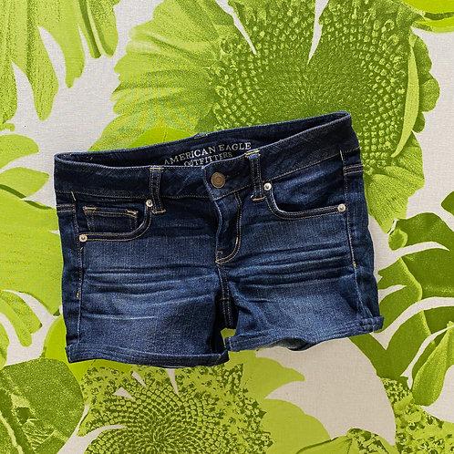 American Eagle Dark Denim Classic Shorts (4)