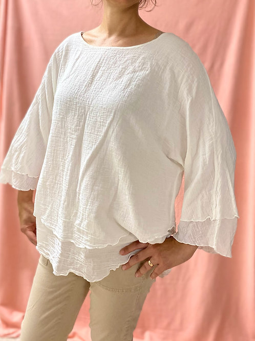 Cotton Collection Long Sleeved Shirt (L)