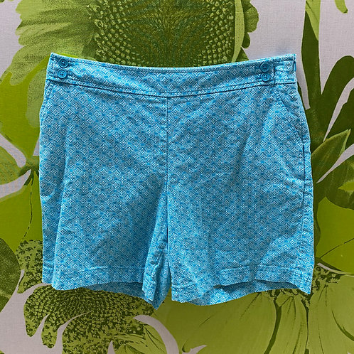 Talbots Side-button Sky Blue Shorts (10)
