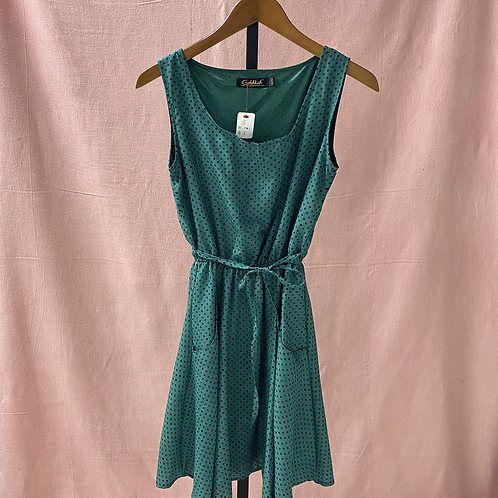 Vintage Style! GoldKid London Green Dress (S/M)