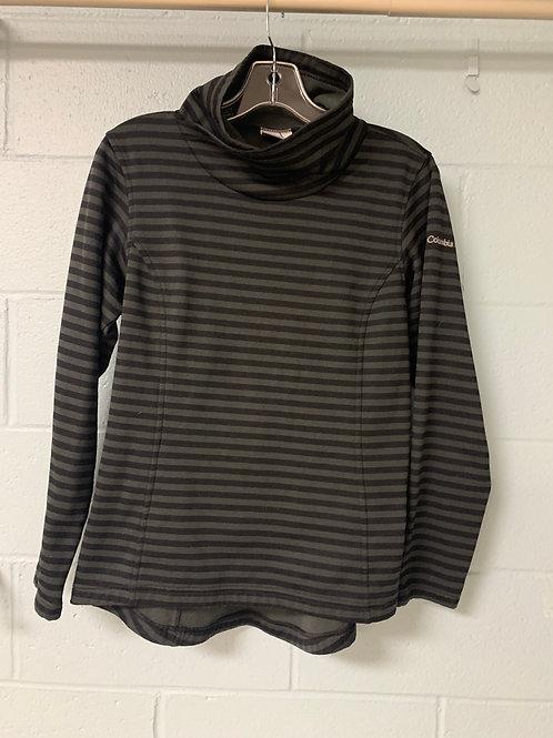 Grey Striped Columbia Sweatshirt (m)