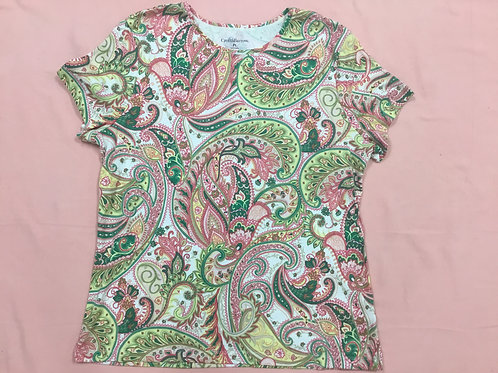 Croft & Barrow Floral Shirt (PL)