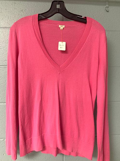 Pink J. Crew Sweater (s)