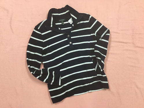 Ralph Lauren 1/4 button sweater (M)