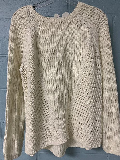 White H&M Knit Sweater (m)