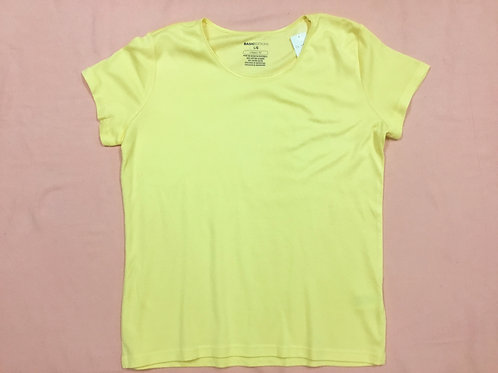 Basic Editions Yellow Tee (L)