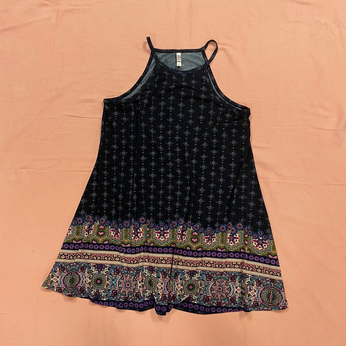 Xhilaration Bohemian Tank Top Dress (L)