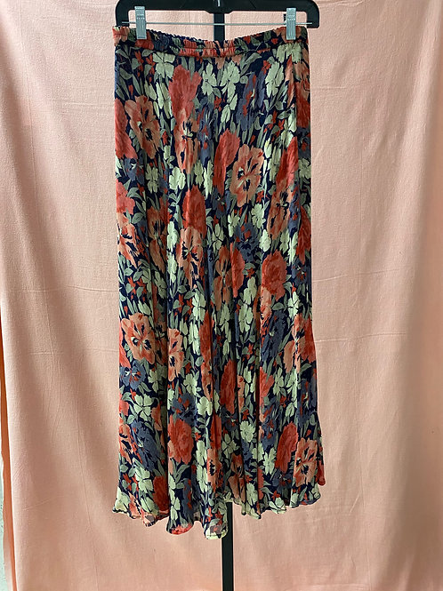 Coldwater Creek Floral Ankle Skirt (S/M)