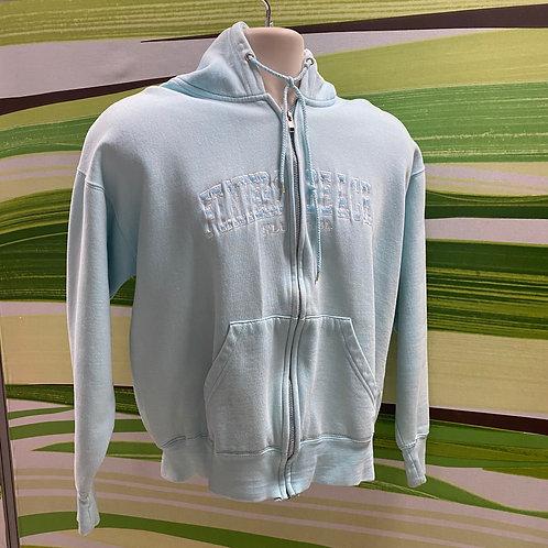 Zip-up Hooded Sweatshirt (M)