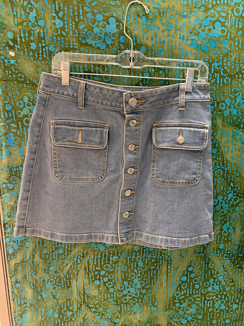 American Eagle Denim Skirt (8)