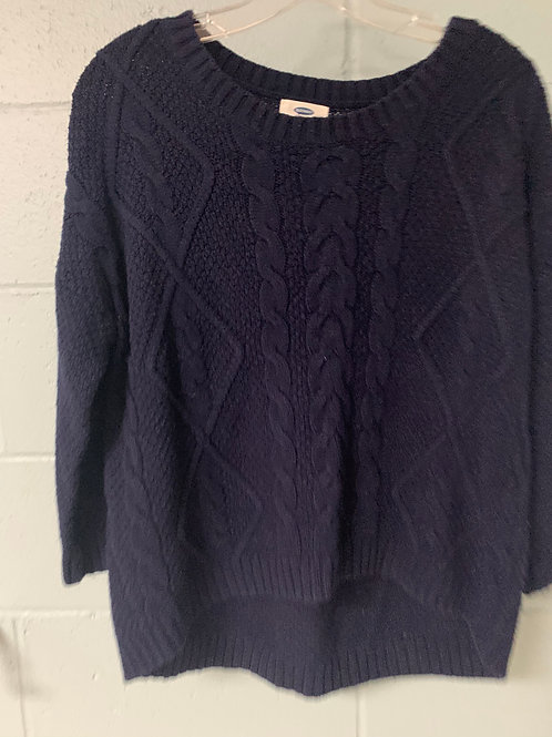 Navy Blue Old Navy Sweater (m)
