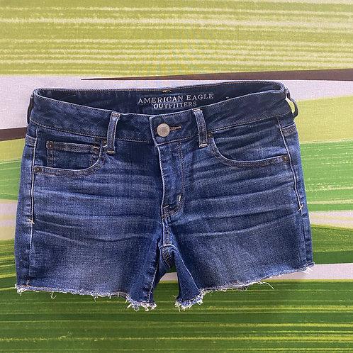 American Eagle Cut-off Denim Shorts (6)