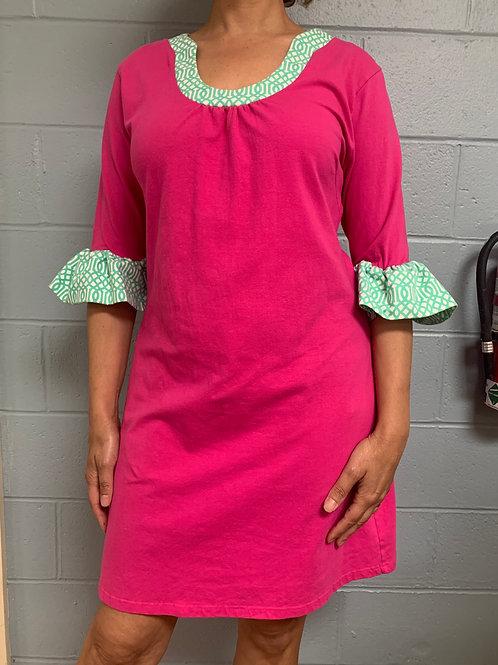 Tracy Negoshian Pink Dress (XL)