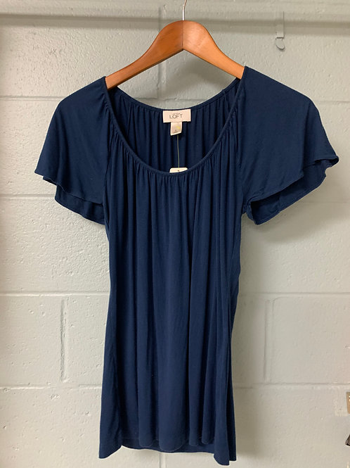 Dark Blue Ann Taylor T-Shirt (s)
