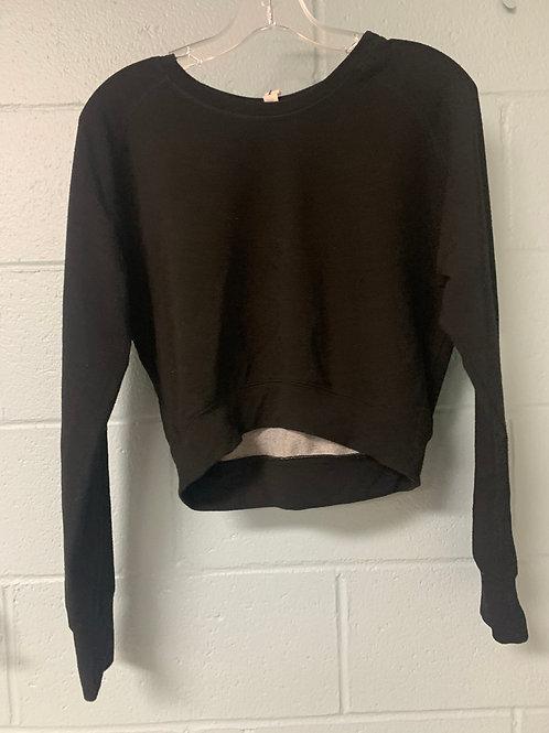 Black Scorpio Sol Cropped Longsleeve Shirt (xs)
