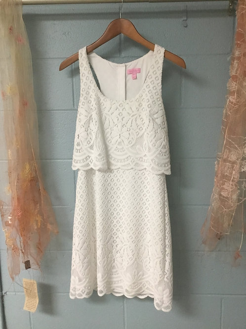 Lily Pulitzer Lace Dress (M)