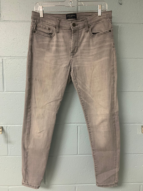 Grey Banana Republic Skinny Jeans (petite 29/8)