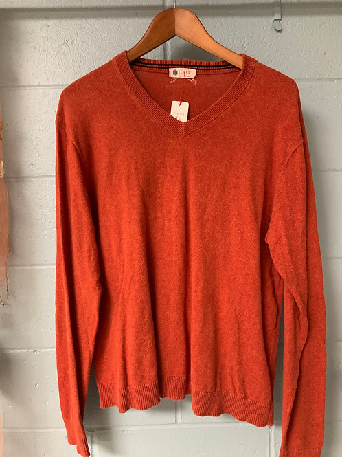 Orange J. Crew Sweater (L)