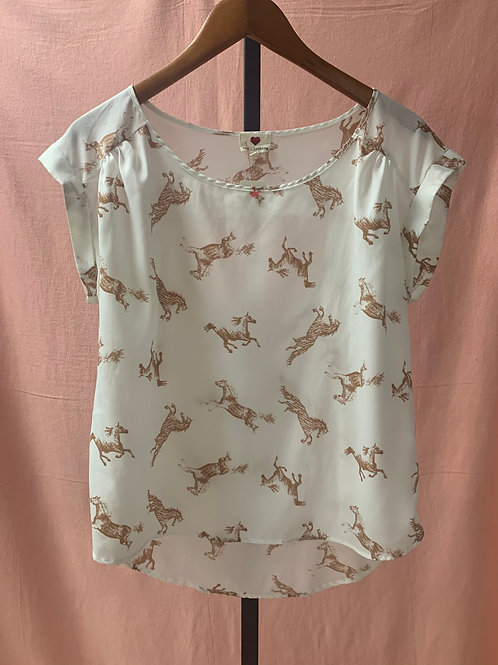 One Clothing Horse Blouse (M)