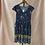 Thumbnail: Blue Floral Print Dress (M)