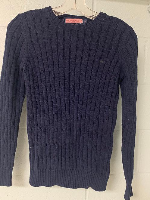 Navy Blue Vineyard Vines Sweater (xs)
